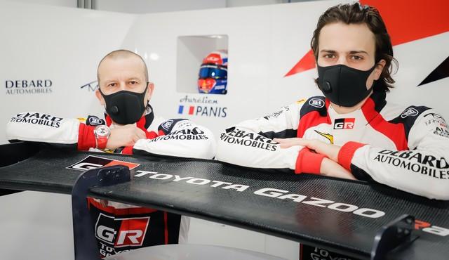 Finale du Championnat de France FFSA GT : Olivier et Aurélien Panis au volant de la Toyota GR Supra GT4 Olivierpanisetaureacutelienpanis