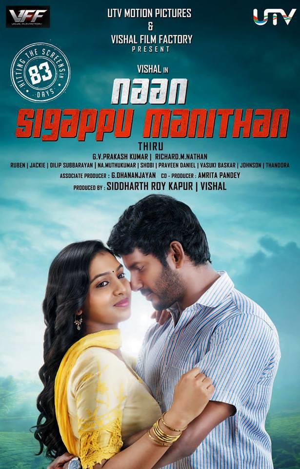 Naan Sigappu Manithan (2014) UNCUT 720p Hindi Dual HDRip Esubs DDDL