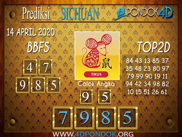 Prediksi Togel SICHUAN PONDOK4D 14 APRIL 2020