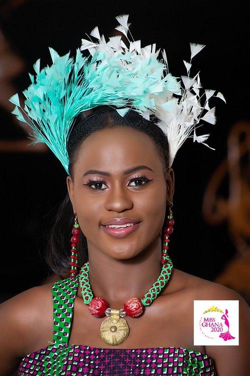 candidatas a miss ghana 2020. final: 21 de agosto. 4