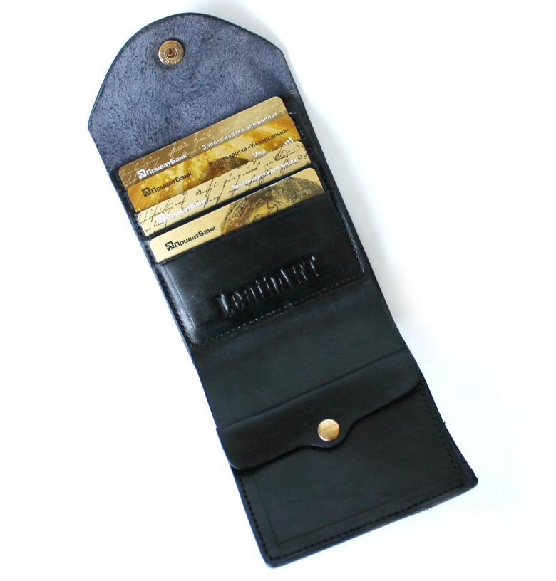 Мужской кошелек из натуральной кожи Denzel