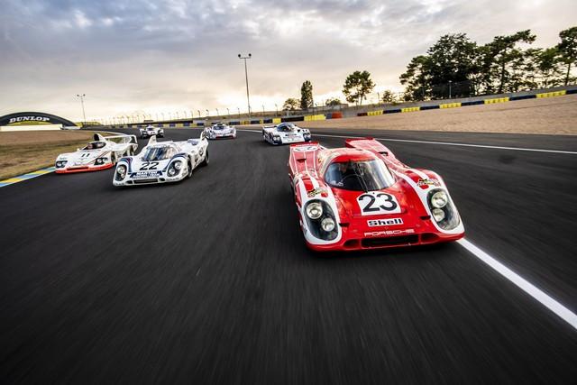 Porsche réuni six prototypes vainqueurs au classement général au Mans S20-4244-fine