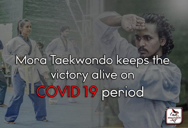 Mora Taekwondo keeps the victory alive during COVID-19