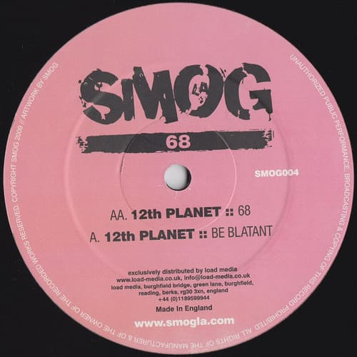 Download 12th Planet - Be Blatant / 68 mp3