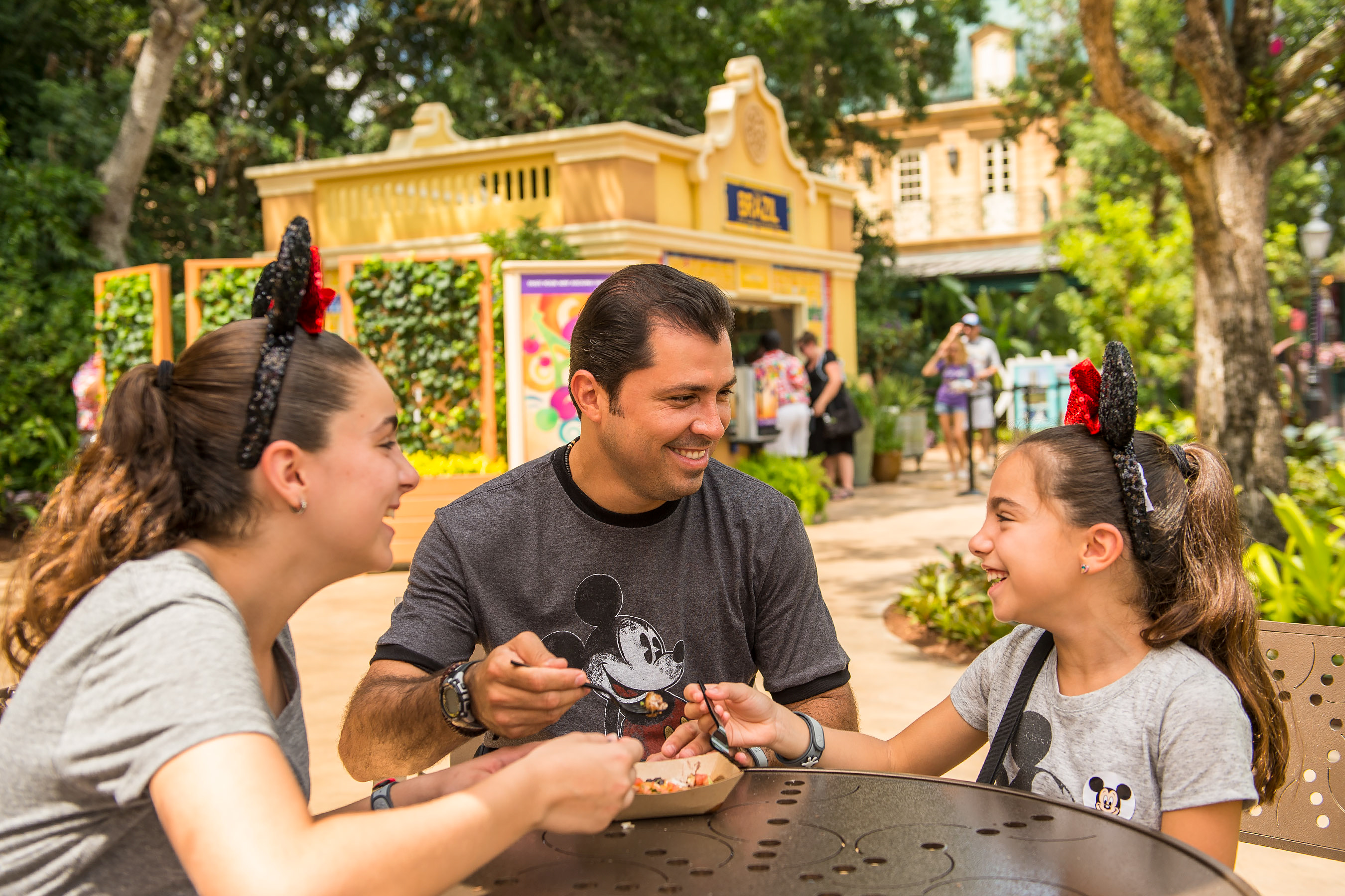 Epcot Food and wine with Kids