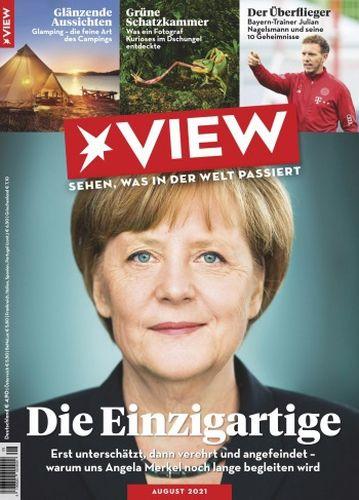 Cover: Der Stern View Magazin (Sehen was in der Welt passiert) No 08 2021