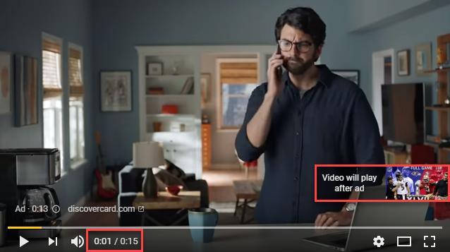 Non Skip Ads Sample