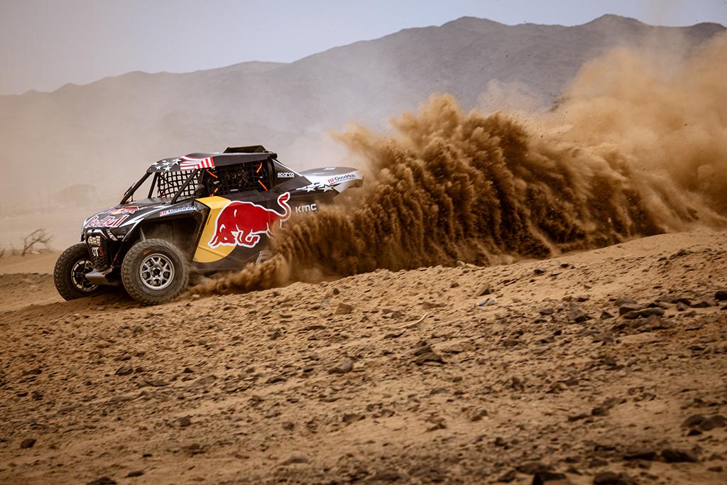 Seth-Quintero-USA-of-Red-Bull-Off-Road-Junior-Team-trains-during-the-shakedown-prior-Rally-Dakar2021