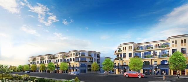 Khu nhà phố thương mại Senturia Nam Sài Gon của chủ đầu tư Tiến Phước