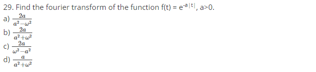 FInd-the-fourier-transform-of-the-funaction