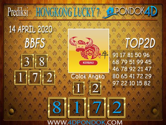 Prediksi Togel HONGKONG LUCKY 7 PONDOK4D 14 APRIL 2020