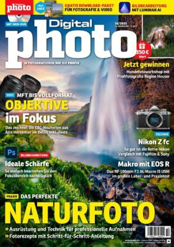 Cover: Digital Photo Magazin No 10 Oktober 2021