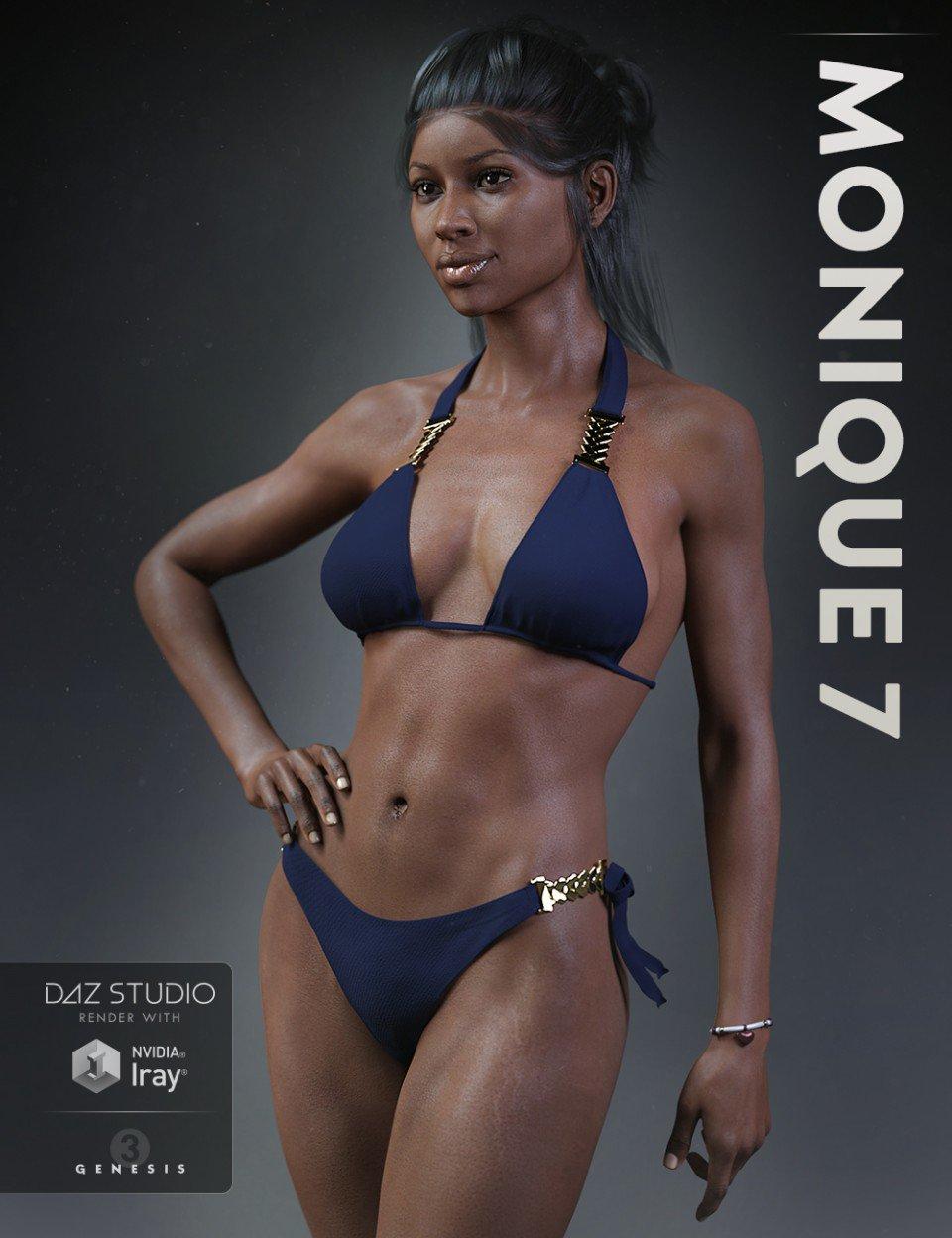Monique 7 with HD Addon