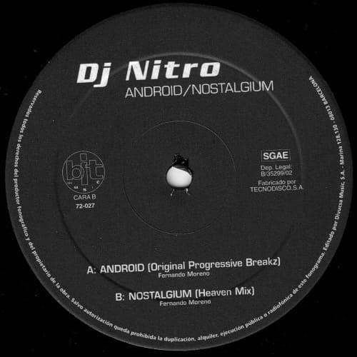 Download DJ Nitro - Android / Nostalgium mp3