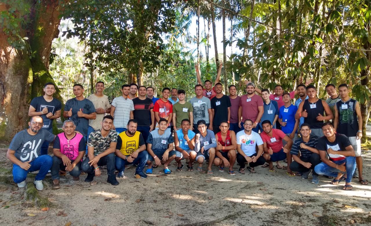 Grupos de homens do encontro com Deus