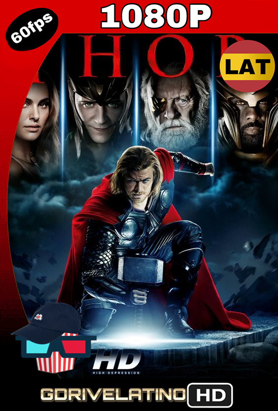 Thor (2011) BDRip 1080p Latino-Inglés MKV