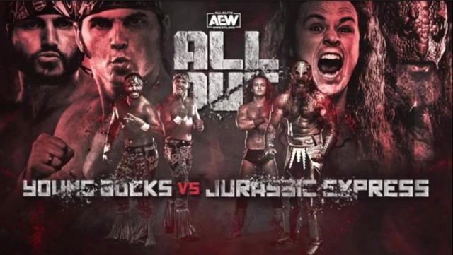 The Young Bucks vs. Jurassic Express