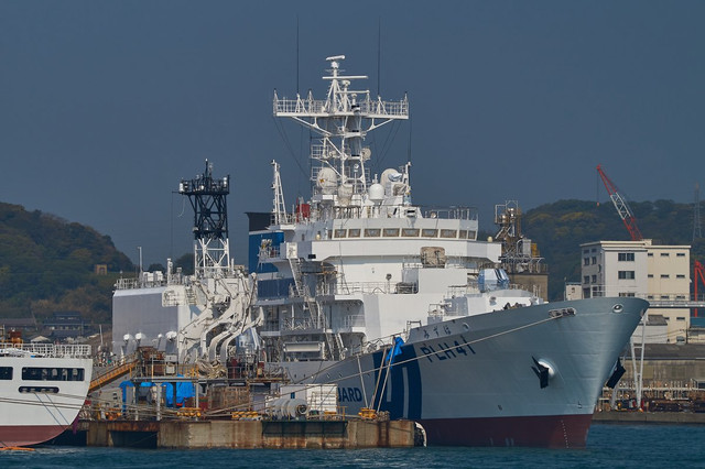 Japan-Coast-Guard-New-6000-Tons-Patrol-Vessel-PLH-41-Mizuho-Fitted-with-40-Mk4-Main-Gun-2