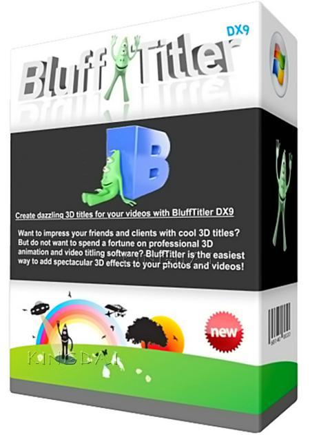 BluffTitler Ultimate 15.0.0.3 [32/64][Crear textos 3D animados para tus fotos o