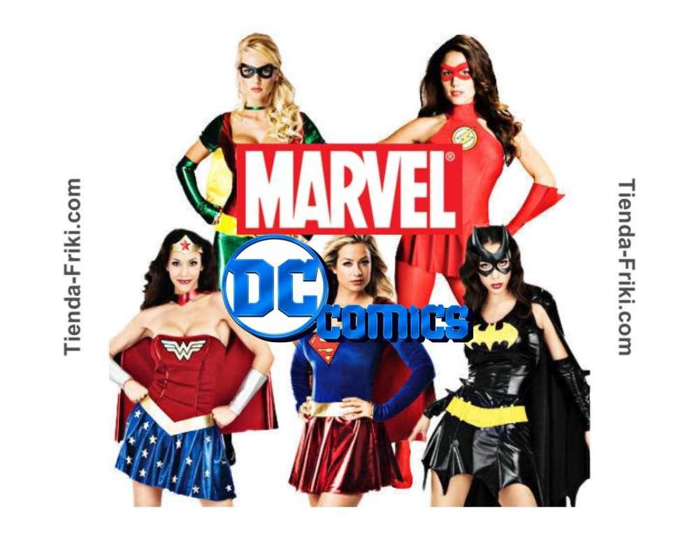 Ver disfraces para chicas y mujeres de Marvel 2021