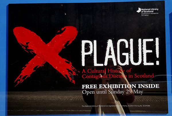 edinburgh plague exhibition