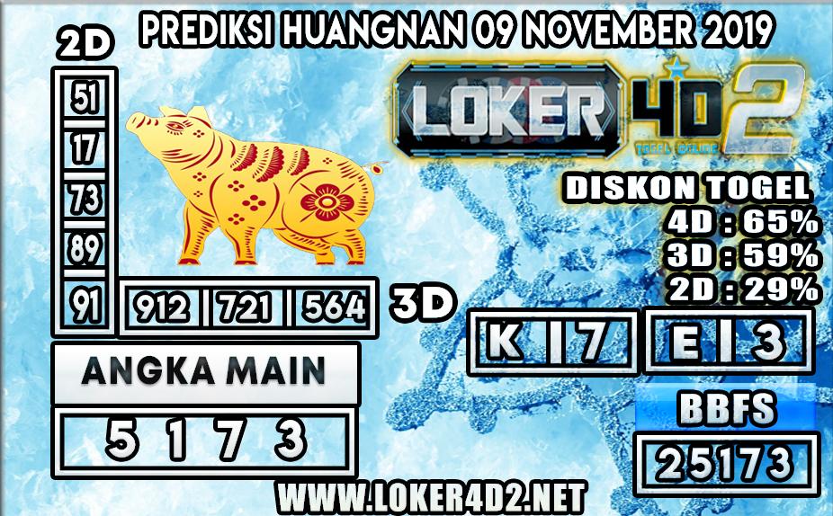 PREDIKSI TOGEL HUANGNAN POOLS LOKER4D2 09 NOVEMBER 2019