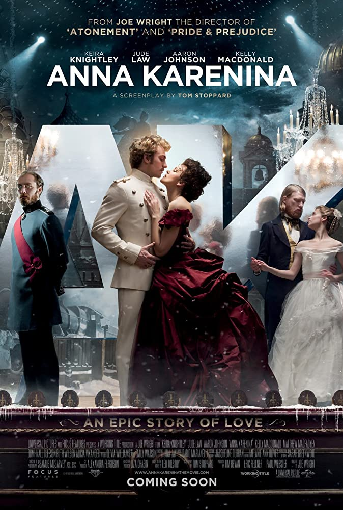 Anna Karenina 2012 Hindi ORG Dual Audio 720p BluRay ESubs 1.1GB | 450MB Download