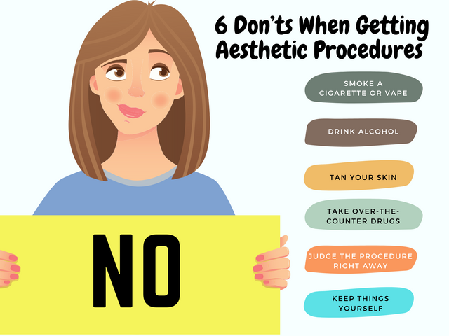 6-Don-ts-When-Getting-Aesthetic-Procedures