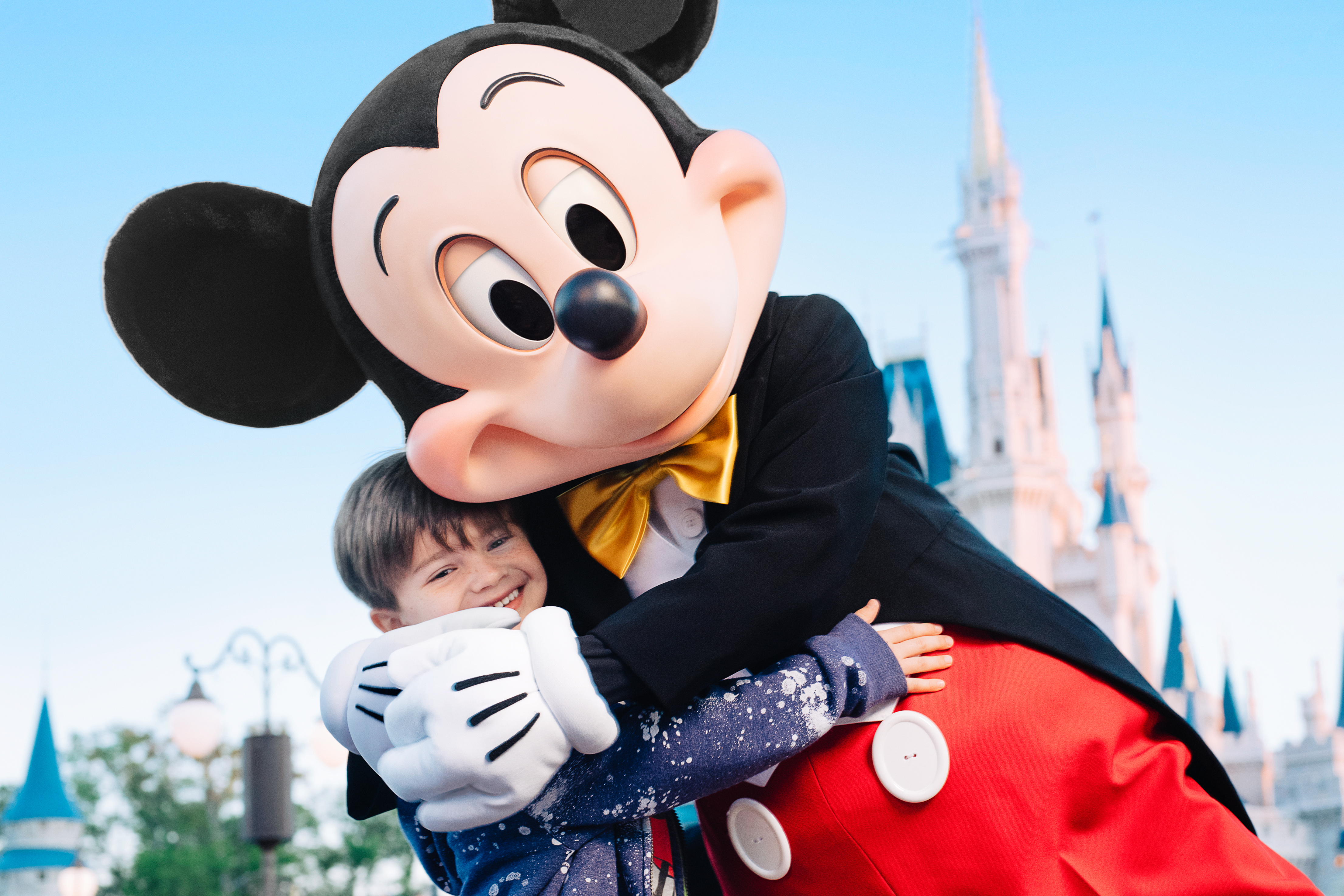Character experience with Mickey