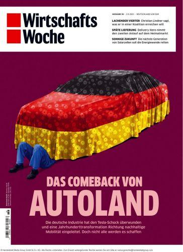 Cover: Wirtschaftswoche Magazin No 36 vom 03  September 2021