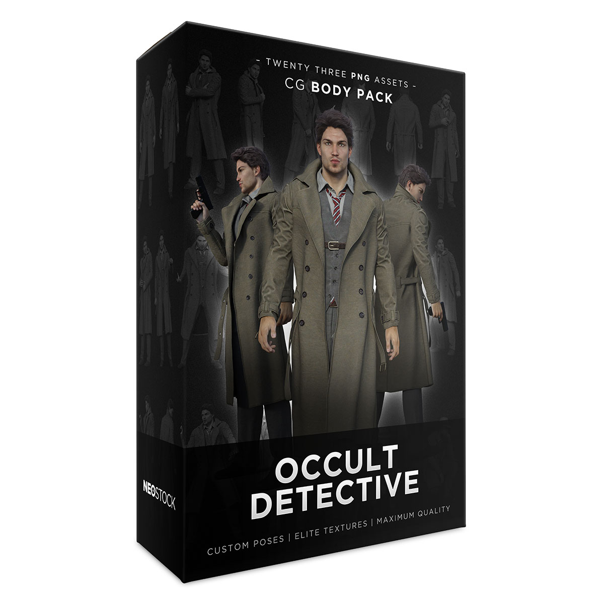 cg occult detective product box sales
