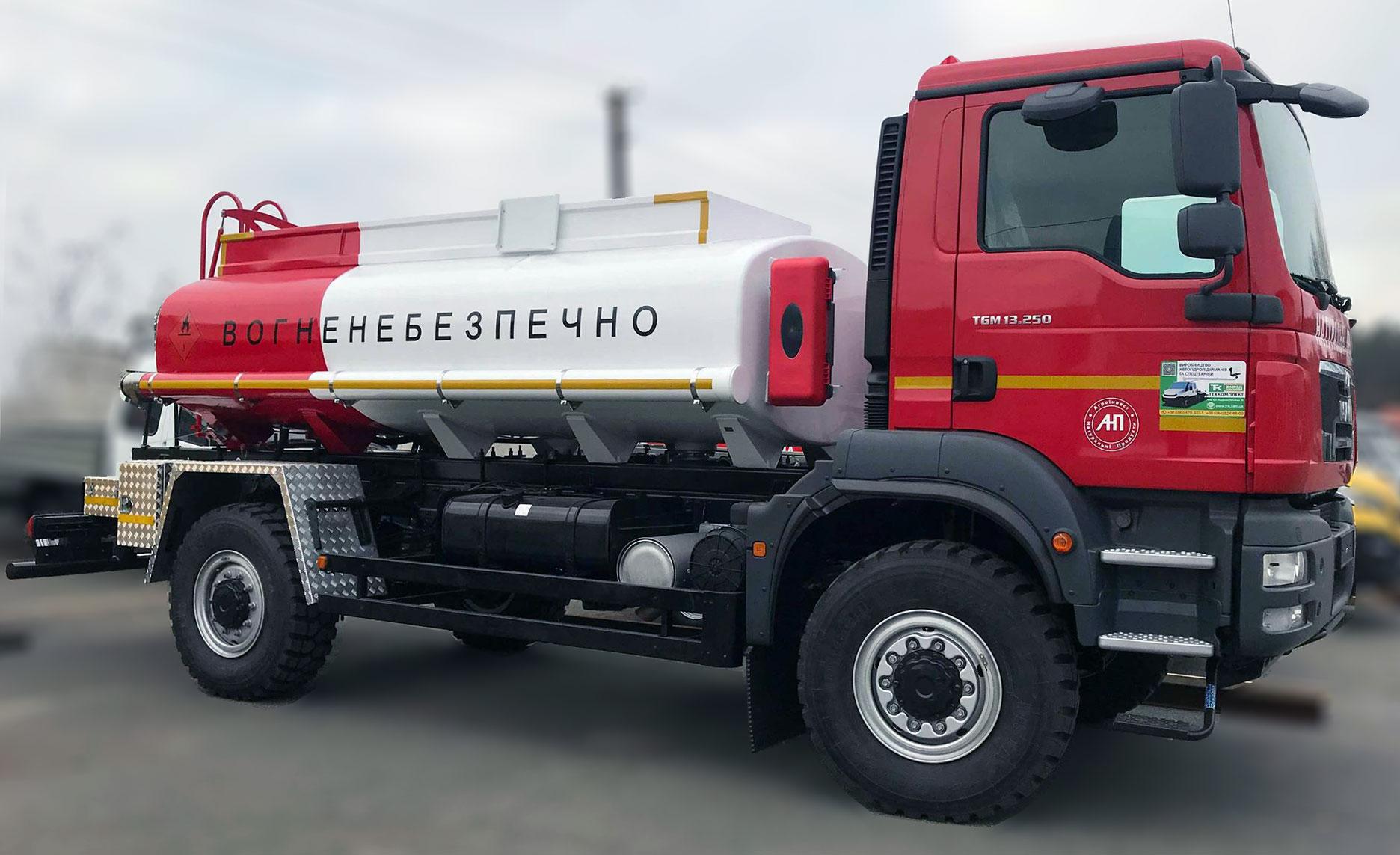 Купить бензовоз в Украине