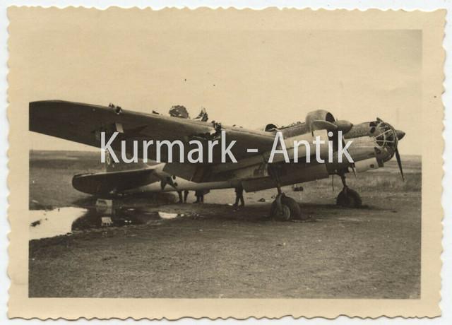 B419-Foto-Wehrmacht-Russland-1942-Front-Beute-Flugzeug