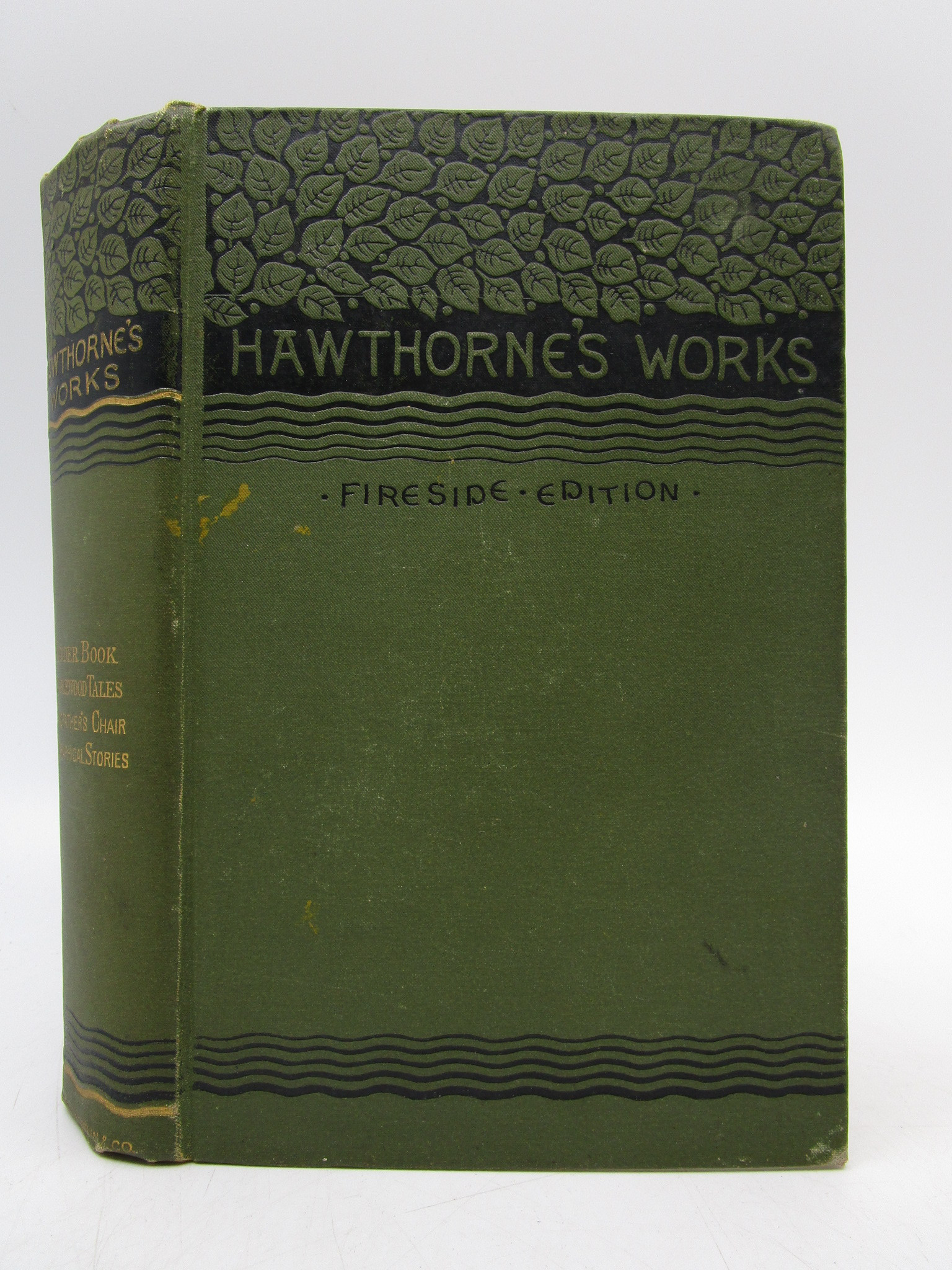 Image for Hawthorne's Works; A Wonder Book; Tanglewood Tales; Grandfather's Chair; Biographical Stories