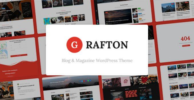 Grafton – Blog & Magazine WordPress Theme