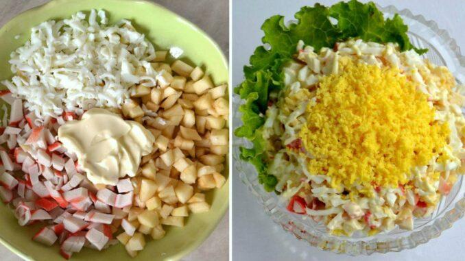 თითოეულ სალათს 10 წუთში ვამზადებ. უმარტივესი და უგემრიელესი სალათების რეცეპტები.