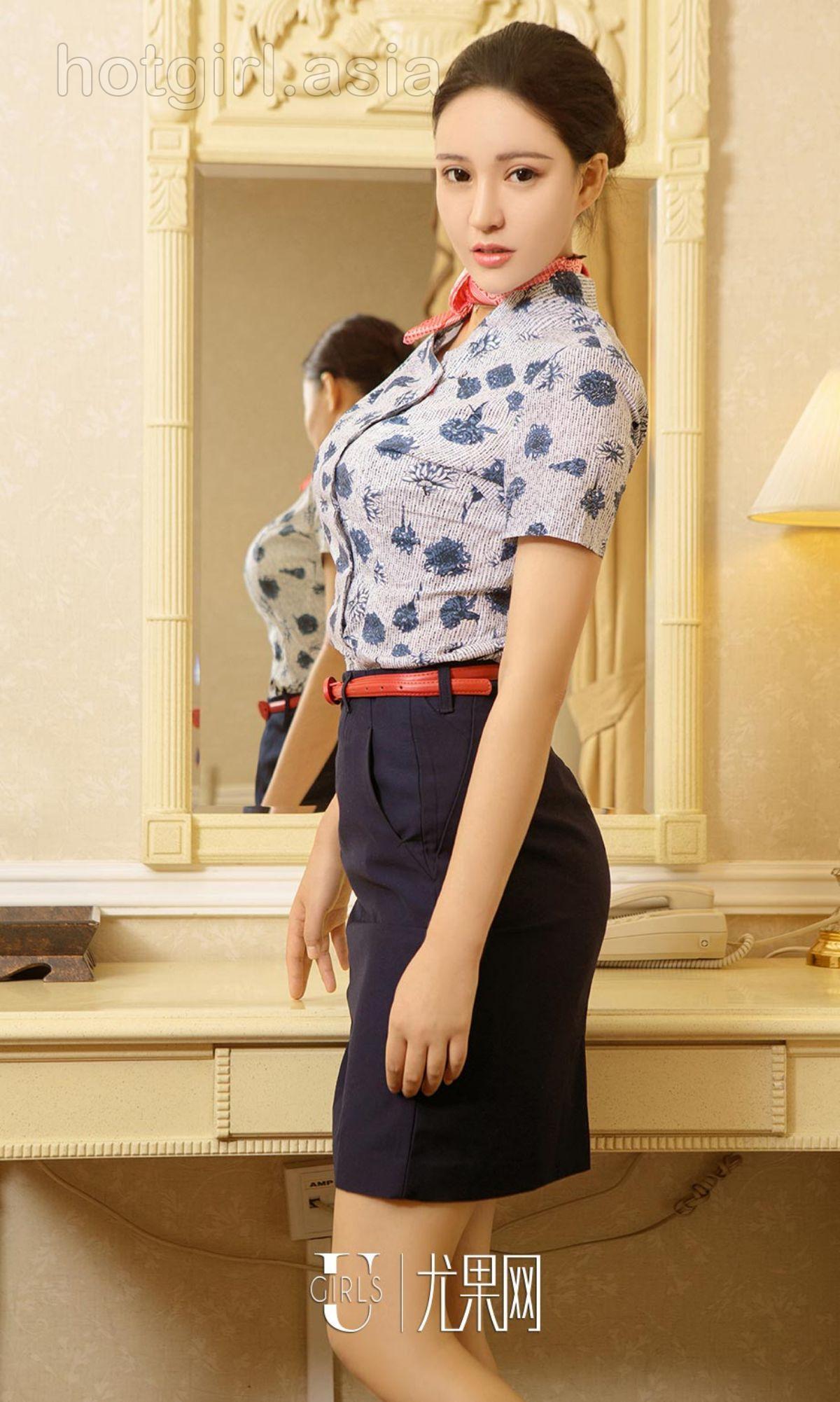 [Ugirls 爱 尤物] No.902 Lin Xi-Flight attendant after work
