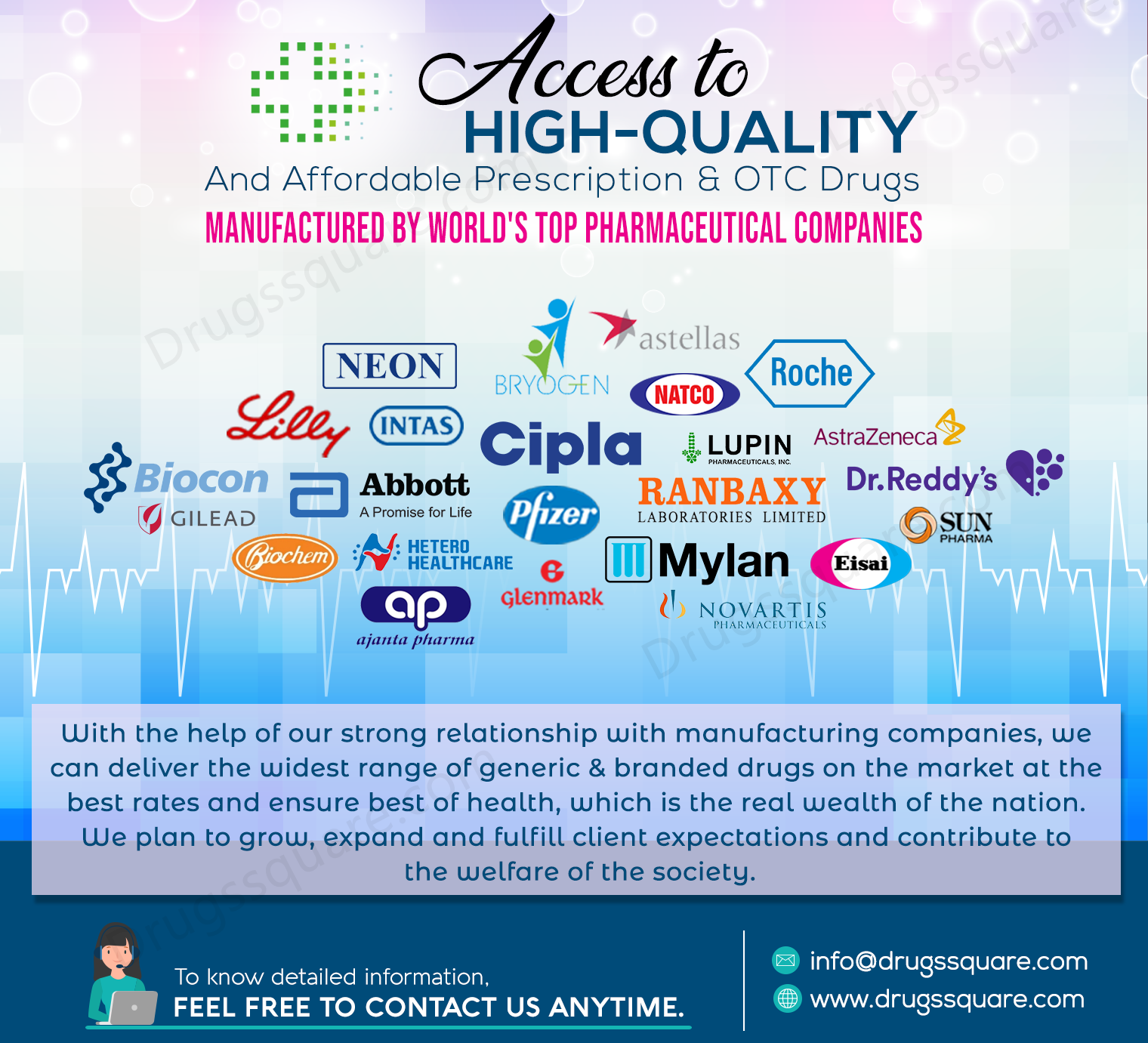 Search Medicines by Pharmaceutical Manufacturing Companies