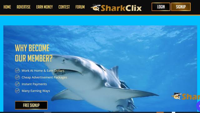 sharkclix.com scam