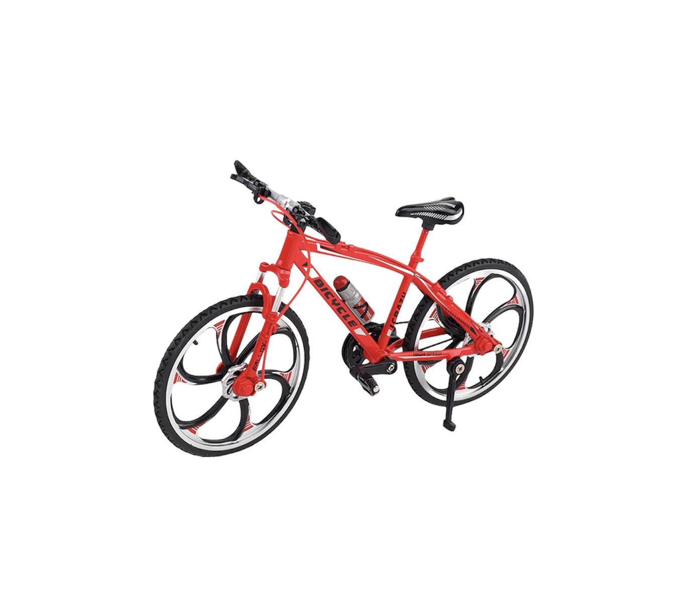 ველოსიპედი მეტალის (წითელი)