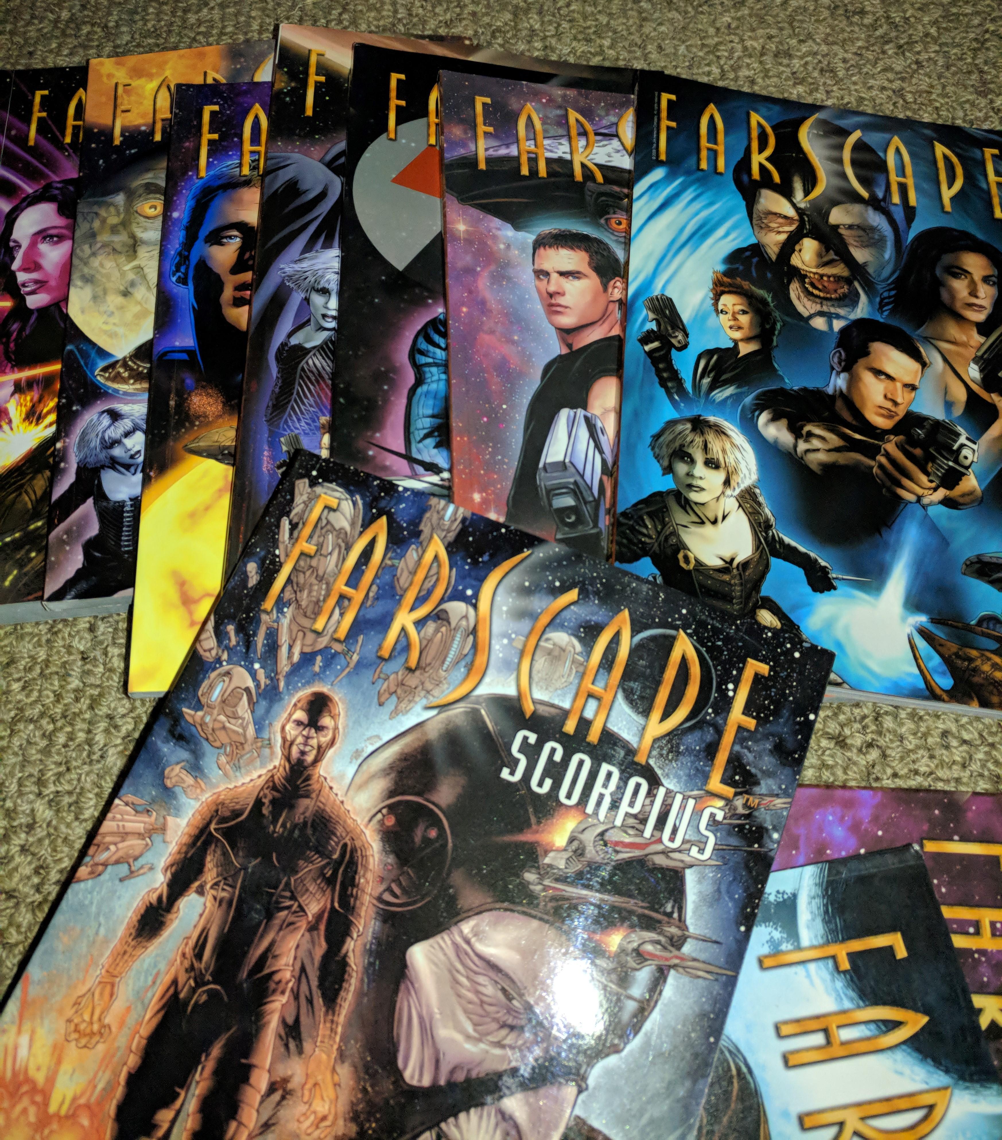 Farscape Comic Collection Ebooks1001 1GB