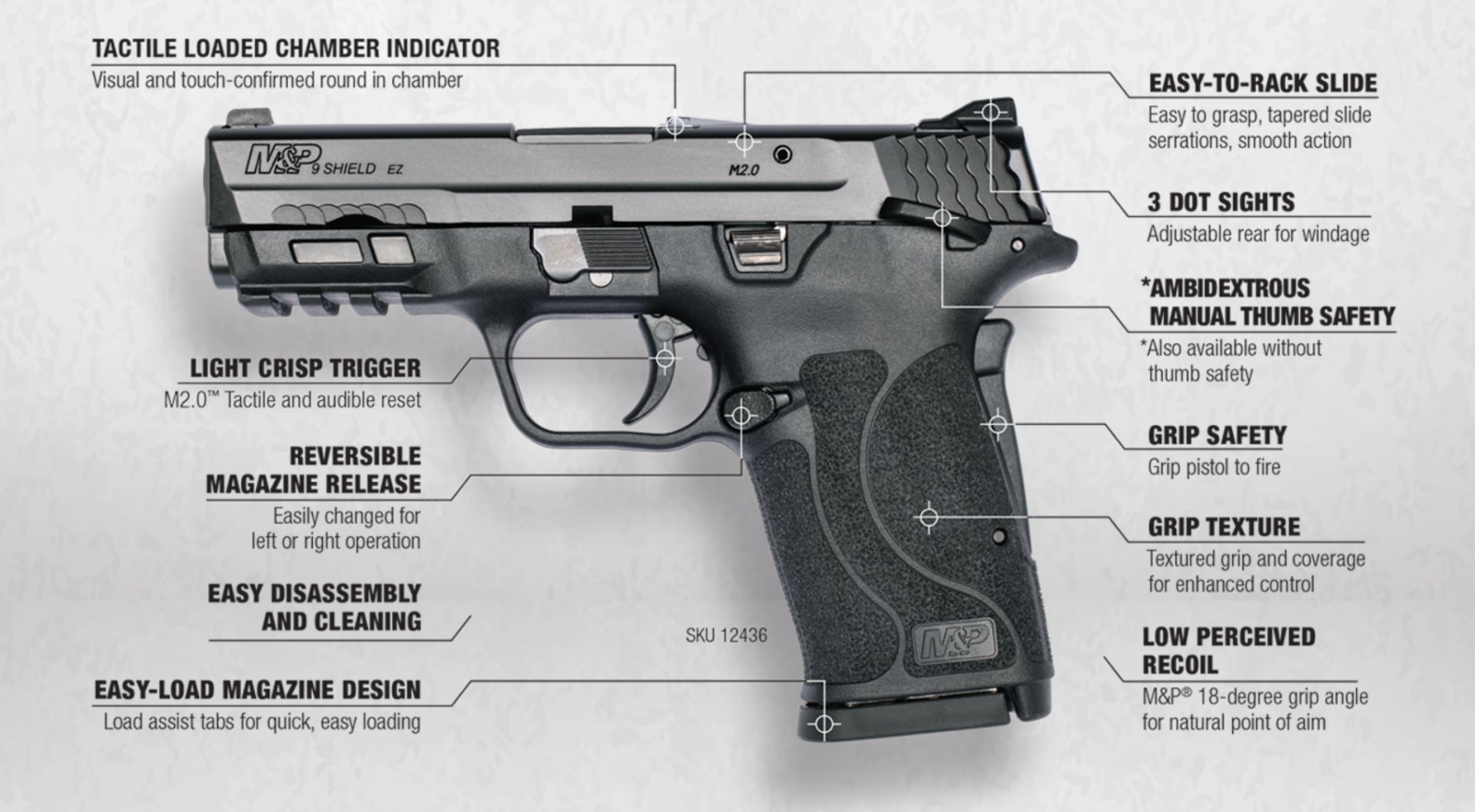 smith and wesson shield ez 9mm