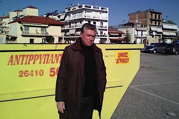 Τοποθέτηση κάδων για ογκώδη αντικείμενα στο Αγρίνιο