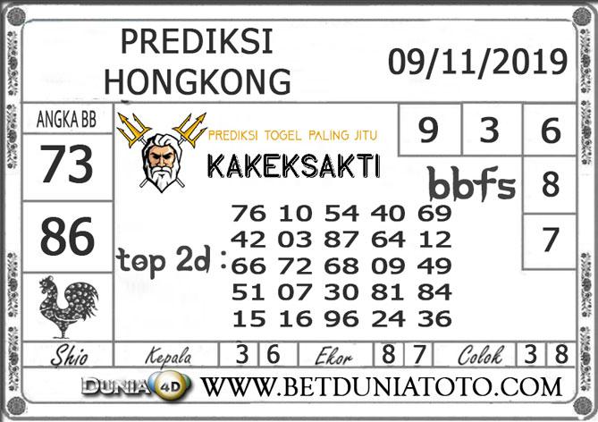 """Prediksi Togel """"HONGKONG"""" DUNIA4D 09 NOVEMBER 2019"""