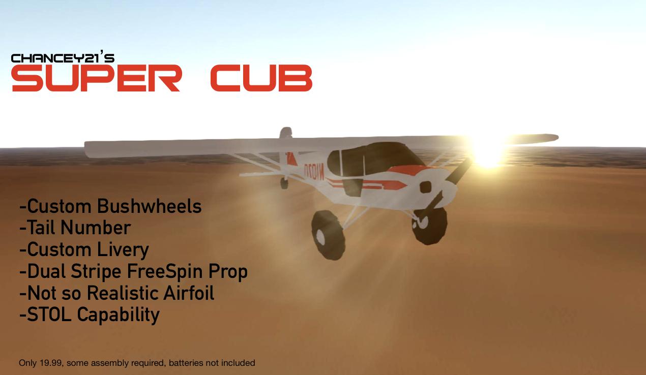 SimpleRockets 2   Piper PA-18 Super Cub