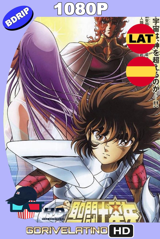 Saint Seiya: Los Caballeros del Zodiaco Obertura del Cielo (2004) BDRip 1080p Latino-Castellano-Japonés MKV