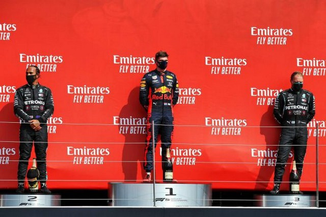 F1 GP du 70e anniversaire de la F1 2020 : Victoire Max Verstappen (Red Bull) 1049290