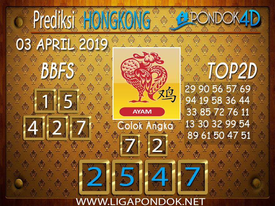 Prediksi Togel HONGKONG PONDOK4D 03 APRIL 2019