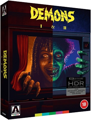 Demoni 2 - L'Incubo Ritorna (1986) FullHD 1080p UHDrip HDR10 HEVC DTS ITA/ENG