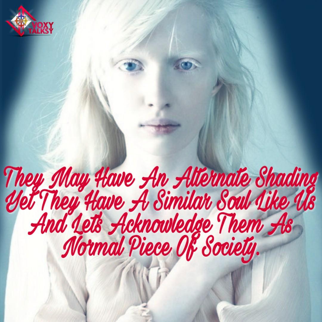 International Albinism Awareness Day 2020 | People with Albinism | VoxyTalksy